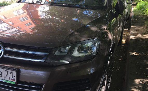 Чип тюнинг VW Touareg 4.2TDI