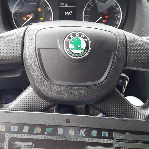 Чип тюнинг Skoda Octavia 1.6 BSE