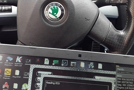 Чип тюнинг Skoda Octavia RS