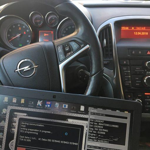 Чип тюнинг Opel Astra J 1.6