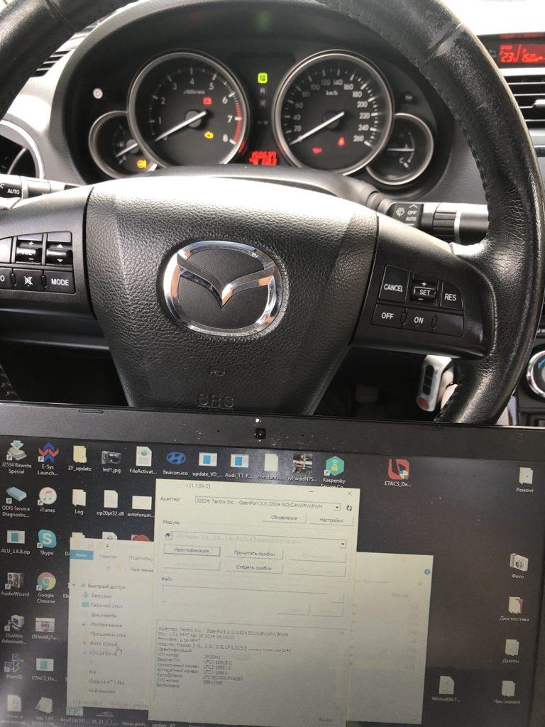 Чип тюнинг Mazda 6 GH 2.0 AT